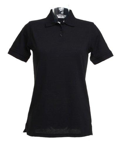 Kustom Kit Klassic polo femmes avec Superwash ® 60 ° c Noir - Noir
