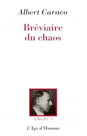 Amers, tome 1 : Le Bréviaire du chaos