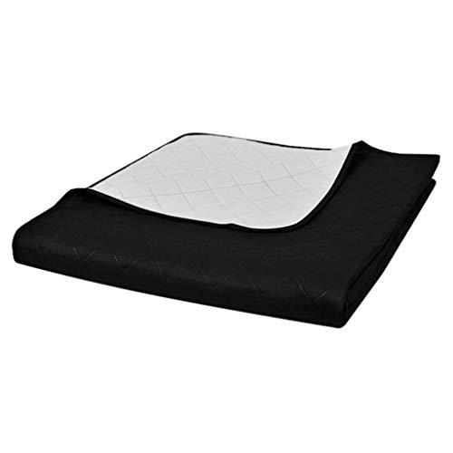 vidaXL Steppdecke Zweiseitig 230x260cm Bettüberwurf Decke Tagesdecke Steppung
