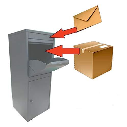 Paketbriefkasten Paketkasten Extra einfach für Paketdienst und Empfänger