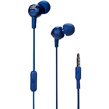 JBL C200SI in-Ear Headphones with Mic (Mystic Blue)
