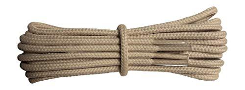 Fabmania Lacci Beige Intemso per stivali- 4 mm rotondo- ideale per scarpe  da trekking ea90632fcfe