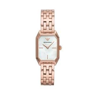 Emporio Armani Reloj Analógico para Mujer de Cuarzo con Correa en Acero Inoxidable AR11147