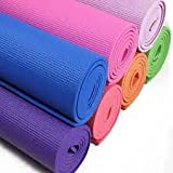 #9: Hanumex Yoga Mat for Exercise and Meditation, 6mm ,Multicolor