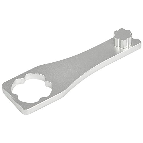 MENGS® Aluminium Schlüssel Schraubenschlüssel festziehen Knopf Schraubenmutter Werkzeug für die GoPro HD / 2/3/4 Zubehör - Silber
