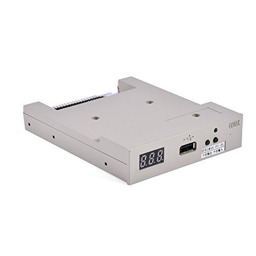 Richer-R 3.5 Zoll USB Diskettenlaufwerk Emulator, SFR1M44-FU-DL 1.44MB USB Drive Floppy Laufwerk Emulator 34pin Floppy-Treiber,Geeignet für Stickmaschinen industrielle Steuergeräte