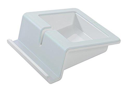 Preisvergleich Produktbild HAN 92100-111 UP Tablet Stand; mit Softgrip Oberfläche und Kabelhalterung; grau-modern