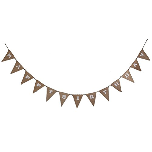 Tinksky HAPPY BIRTHDAY Geburtstag Banner Bunting Banner Party Dekorationen