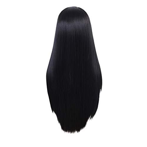 Waselia-front lace perücken damen/lace haarteil(24-26 Zoll), natürliche perücken lace front günstig, Lace Front Perücken Schwarze Synthetische Natürliche Lange Gerade Haar Für ()