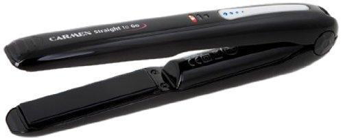 Carmen CR1025 alisador de cabello - Plancha de pelo (Negro)