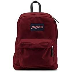 Jansport Mochila Superbreak Mochila Escolar Original: Viking Seleccionar Color Rojo