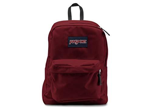 Superbreak Jansport Rucksack Schule Rucksack Original Farbe auswählen: Viking Rot (Jansport Notebook-rucksack)
