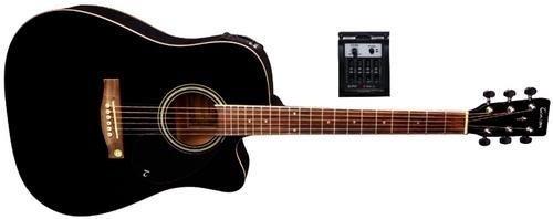 Tenson F501326 Akustikgitarre D10-CE, Cutaway Elektro-Acoustic