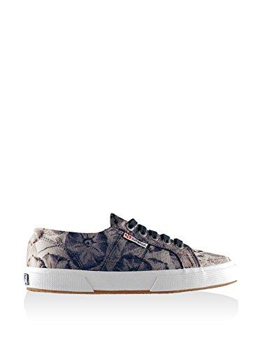 Superga 2750 Fabricw Vanity, Chaussons Sneaker Adulte Mixte Bleu