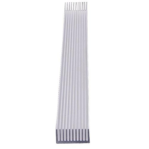 Aluminium Kühlkörper Kühlung für 4 x 3W / 12 x 1W LED