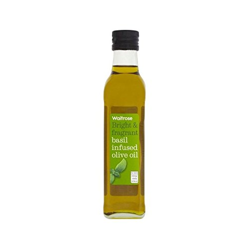 Basil Infused Olive Oil Waitrose 250ml - Pack of 6