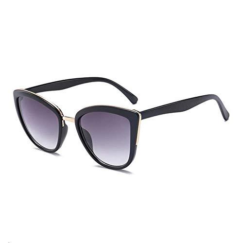 ZHOUYF Sonnenbrille Fahrerbrille Sonnenbrille Damen Retro Farbverlauf Brille Sonnenbrille Damen Brille Uv400, B