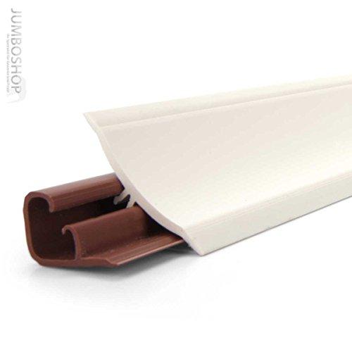 150cm Küchenabschlussleiste Küchenleiste Wandabschlussleiste -- 23 x 23mm LB23-600 WEISS -- Abschlussleiste DPD Küchen Arbeitsplatten