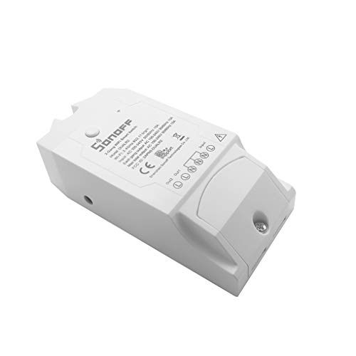 Masterein Sonoff Dual R2 Home Automation Wireless WiFi Smart Switch Smart Switch Module Fernbedienung 16A für Zweikreis - Automation Module