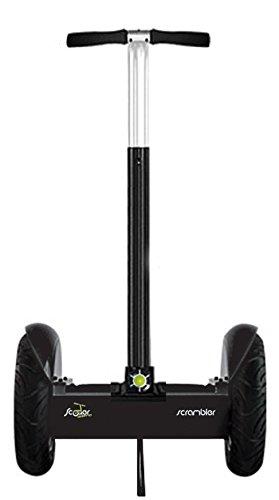 Scooterissimo-Elektro-Segway für Gelände und Stadt, automatisch ausbalanciert, Gyroskop-System für Stabilität Black - City Road
