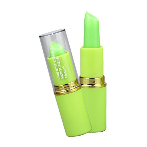Lip Pigment (KAYI Color Changing Jelly Lipstick - Zitrone & Minze Cool Lip Balsam - Feucht, Pigment, Gentle)