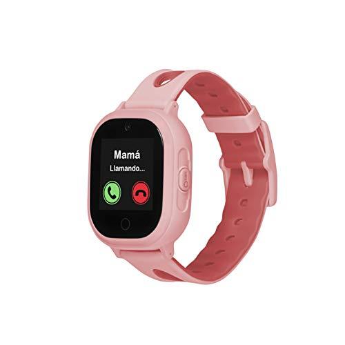 Smartwatch GPS para niños OkyWatch con localizador y teléfono, Resistencia al Agua, Cámara Selfie...