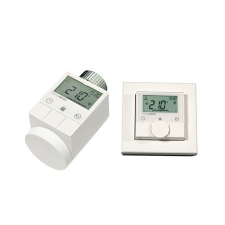 Komforthaus Set HomeMatic Heizkörperthermostat + Wandthermostat