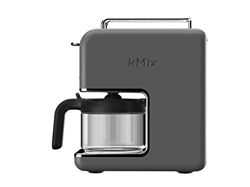 Kenwood CM 030GY New Mix Kaffeemaschine Pop Art, 0,75 Liter / zinkgrau (Kenwood Kaffeemaschine)