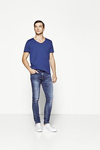 Selected Shntwomario 9604 M.Blue Knit Noos, Jeans Homme Bleu (Medium Blue Denim)
