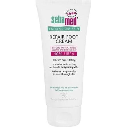 Crème Sebamed pour réparation des pieds avec 10% d'urée, 100 ml