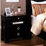 Cambridge Dark Espresso Finish Luxurious English Style Night Stand by 247SHOPATHOME
