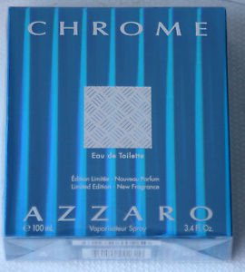 Azzaro Chrome Eau de Toilette Limited Edition 100ml Spray Herren