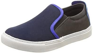 United Colors of Benetton Unisex's Multi Navy Blue Loafers-1 UK/India (33 EU) (18A8UNIC9151I)