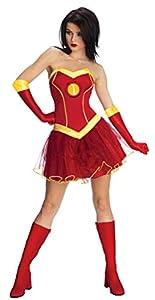 Rubies - Disfraz Oficial de Marvel Miss Iron Man Rescue, Disfraz de Adulto - Mediano 12 - 14