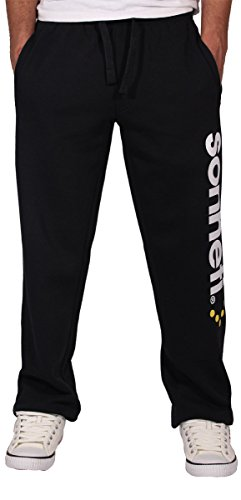 sonneti-mens-boys-hip-hop-star-fleece-jogging-jogger-bottoms-pants-l-black