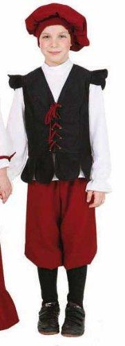 Bauer Kostüm Junge - Kinder-Kostüm Bauern-Junge, Gr. 164
