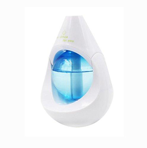 DWCC USB Wassertropfen Tragbare Mini Trockenen Atmosphäre Ultraschall Auto Silent Spray Luftbefeuchter Aromatherapie Maschine Haushalts Luftreiniger
