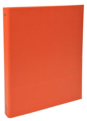 ngbuch (PP kaschiert A4, 30mm) 4 Ringe orange (4-ring A4 Binder)