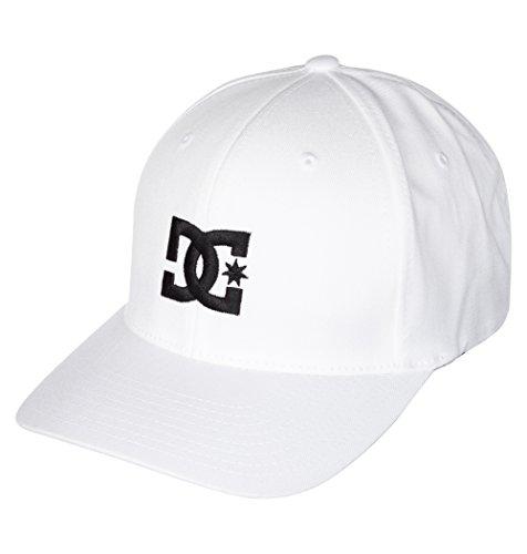 DC Shoes Herren Cap Star 2 M Hat, White, L/XL, 55300096-WHT (White Skull Star)