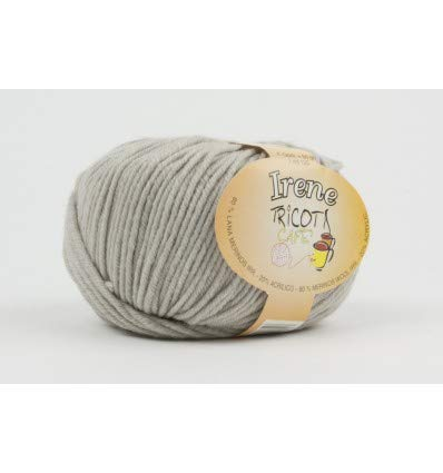 Irene 80% lana merinos irrestringibile 20% acrilico.31 tortora chiaro