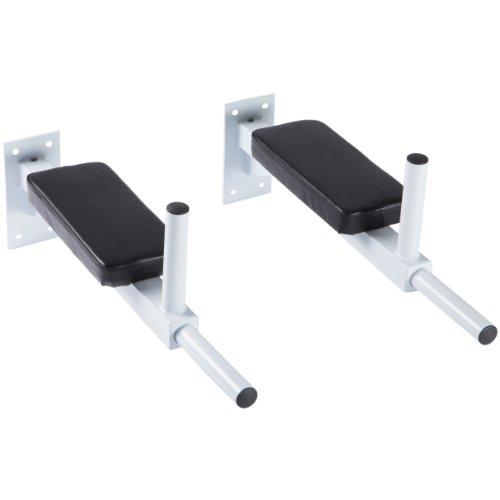 Ultrasport Dip Stangen Bars für die Wandmontage, weiss, One Size, 331100000072