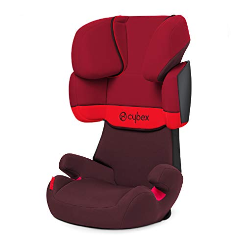 Cybex Silver Solution X, Autositz Gruppe 2/3 (15-36 kg), ohne Isofix, Kollektion 2018, Rumba Red