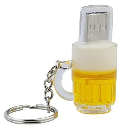 Fablcrew. chiavetta usb 2.0 da 16 gb per piacere, design originale, fantasia, insolito, motivo: birra 2 go 2gb
