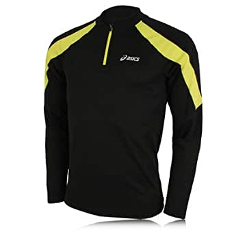 ASICS Volt Run Long Sleeve Half-Zip Running Top - XX Large