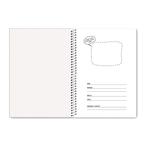 Luxor 1 Subject Spiral Premium Exercise Pocket book, Single Ruled - (18cm x 24cm), 180 Pages Image 6