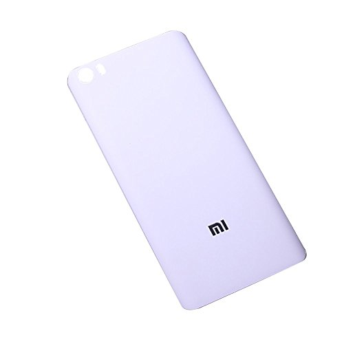 Price comparison product image Flos Xiaomi Mi5 Plastic Back Cover,  Back Cover Replacement for Xiaomi Mi5 (White)