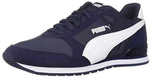 PUMA - St Runner V2 Unisex Adulto Hombre, Azul (Chaqueta-Puma Blanco), 45 EU