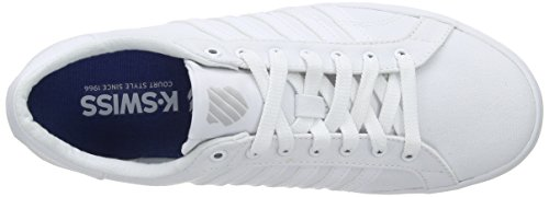 K-Swiss Belmont So T, Sneakers basses femme blanc (WHITE/GULL GRAY 131)