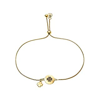 Guido Maria Kretschmer by CHRIST Damen-Armband 375er Gelbgold One Size, gold