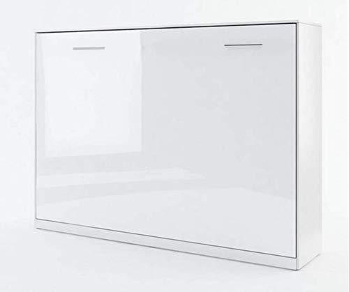 ELBM LIT ESCAMOTABLE Horizontal 140 X 200 Blanc Perle